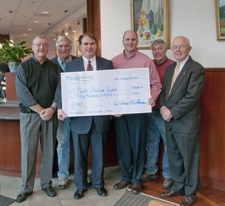 BankGloucester Kicks Off Their 125th Year by Donating $50,000 to Newell Stadium Project