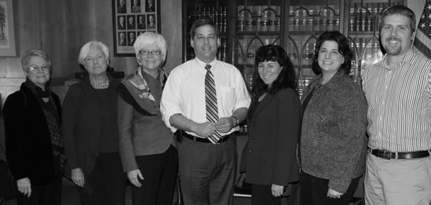 SENATOR BRUCE TARR MEETS WITH INTERIOR DESIGN COALITION