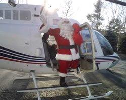 Santa Visits Manchester Athletic Club
