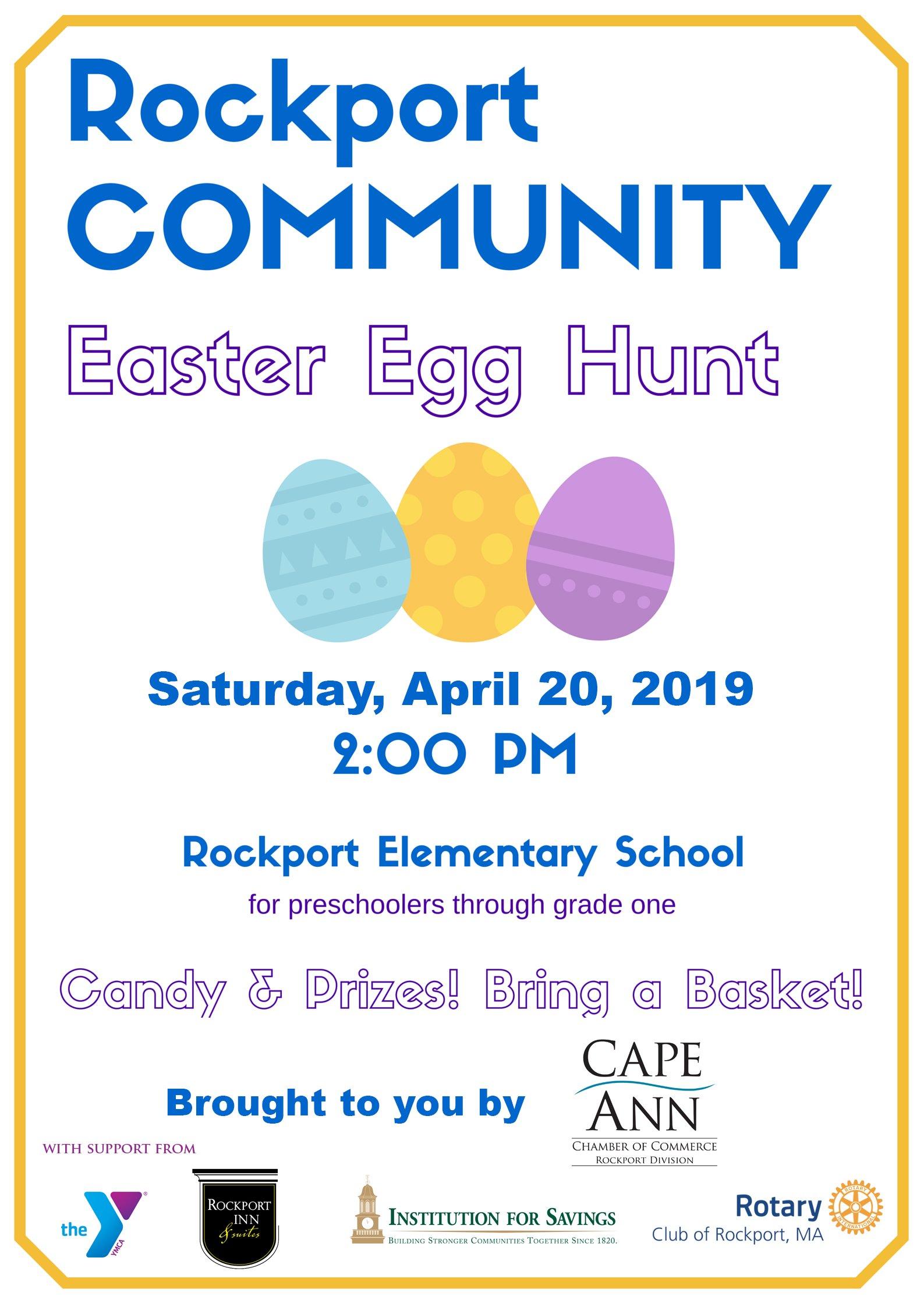 Rockport Easter Egg Hunt