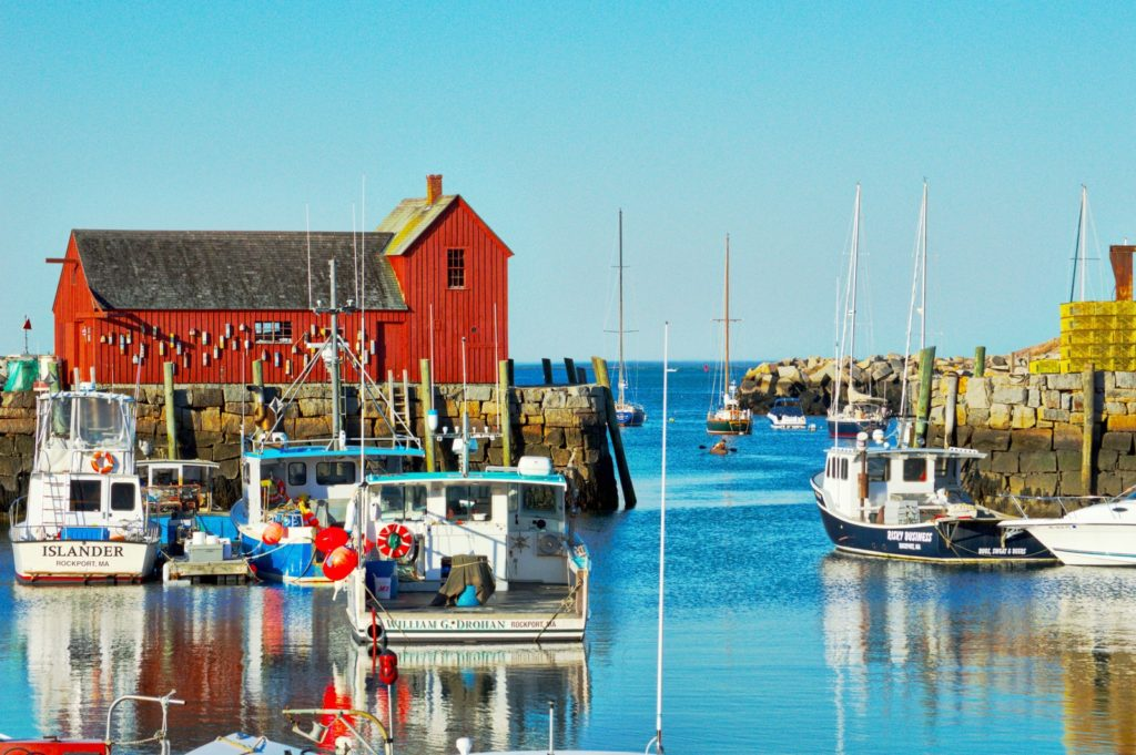 """Rockport Named one of """"The 10 Best Beach Towns on the East Coast"""" by Conde Nast Traveler"""